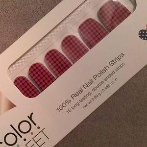 New Color Street nail strips, HTF Fashion Capital